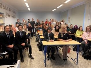 北岡大使、西ハリュ郡を訪問 | 在エストニア日本国大使館